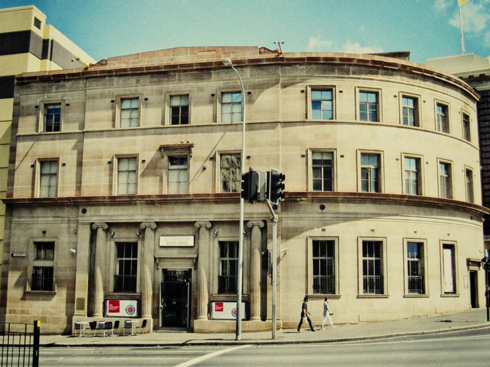 In 2013, the Jesuits acquired the old bank building on the corner of Broadway and City Rd in Chippendale. This established Jesuit House, the first tangible home and headquarters for The Cardoner Project. More