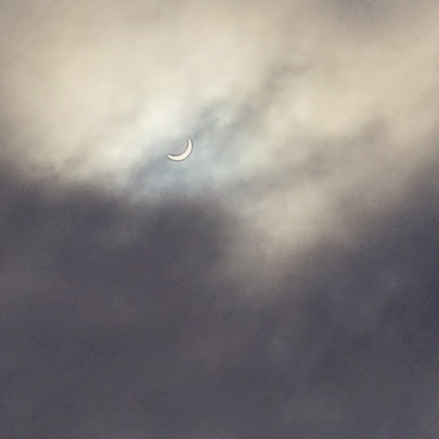 Just the eclipse! #SolarEclipse #Gorgeous