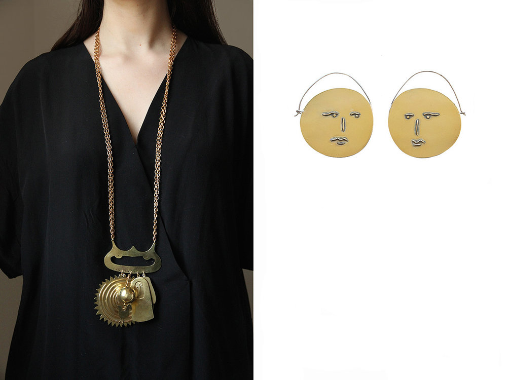 Pictured : Juliet necklace £800.00 and Espejo earrings £350 .......available from our online shop