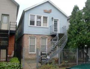 1641 W. Ohio St,  Chicago 2 unit multifamily building Value-add, gut-rehab site Buyer representation