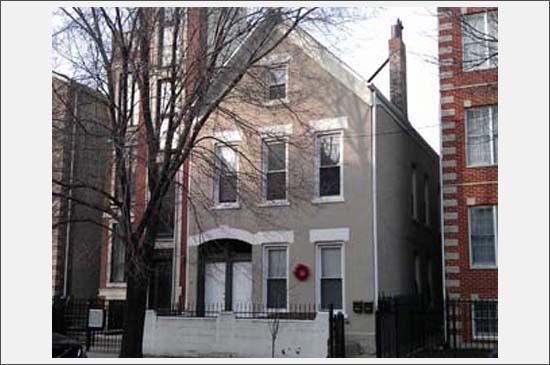 exterior photo of 1814 w. thomas, chicago