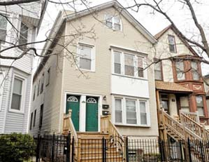 1530 W. Oakdale St. Chicago  2 unit multifamily building Tear down / NEW SINGLE FAMILY HOME SITE Seller representation