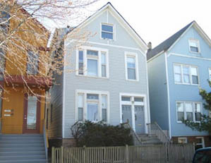 1625 W. Wolfram St. Chicago 2 unit multifamily building Tear down / NEW SINGLE FAMILY HOME SITE Buyer representation