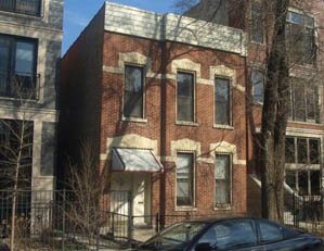 1021 N. Honore St. Chicago 2 unit multifamily building TEAR DOWN / REDEVELOPTO CONDOS Buyer representation