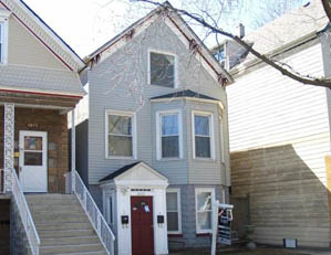 1845 W. Melrose St. Chicago 2 unit multifamily building Tear down / NEW SINGLE FAMILY HOME SITE Buyer representation
