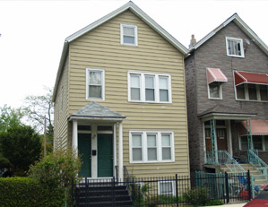1730 W. ALTGELD ST. CHICAGO 2 UNIT MULTIFAMILY BUILDING TEAR DOWN / NEW SINGLE FAMILY HOME SITE BUYER REPRESENTATION