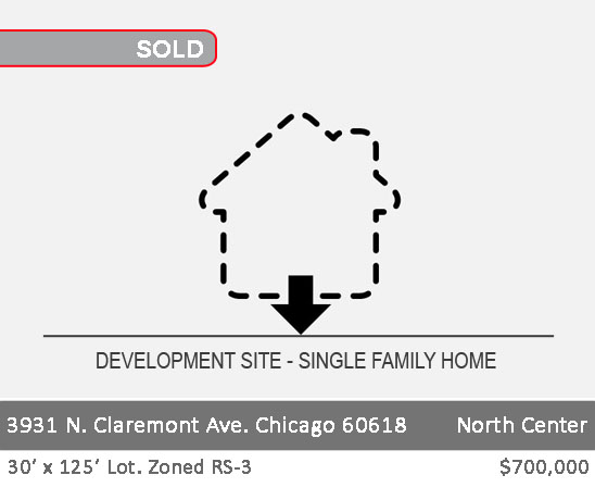 3931 n claremont ave, chicago tear down for sale