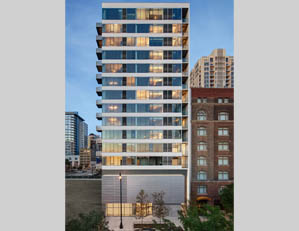 1345 S. Wabash Ave. CHICAGO new construction 2-bedroom condo south loop buyer REPRESENTATION