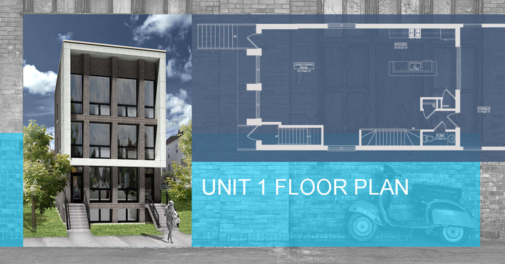 Unit 1 floor plan