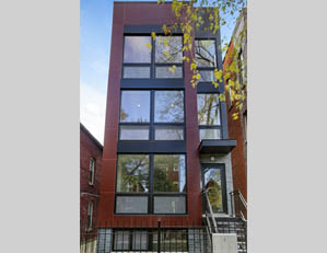 877 N. hermitage Ave. CHICAGO   3 unit condo building project sales & marketing   developer REPRESENTATION