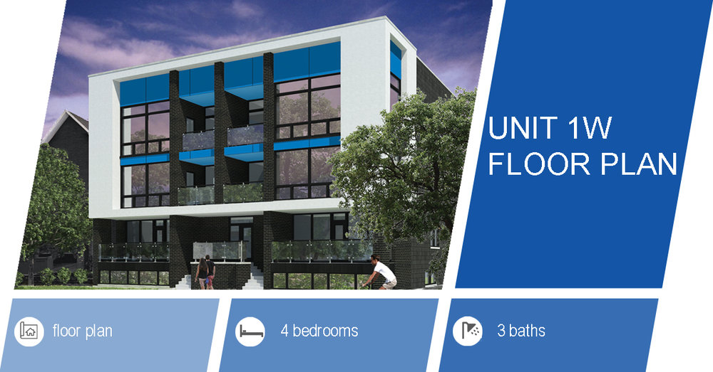 unit 1w floor plan