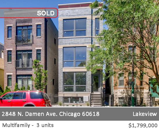 Exterior photo of 3328 W Belle Plaine, Chicago