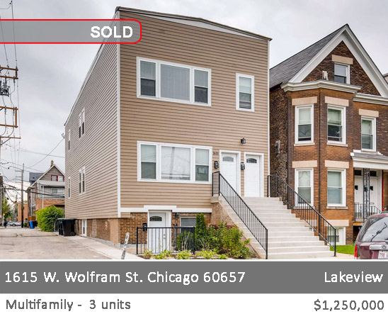 1623 n mohawk st, chicago 3 flat for sale