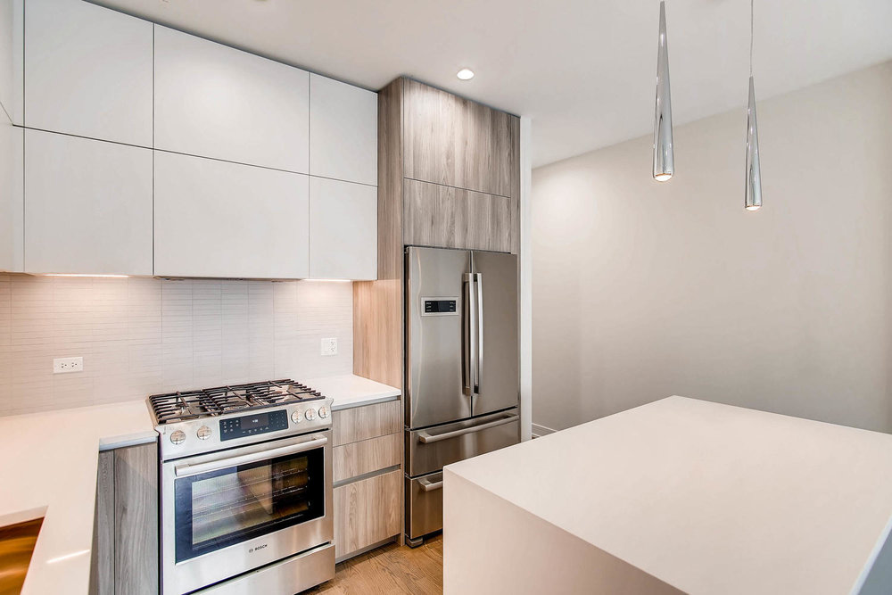 Kitchen at 877 N Marshfield Ave Unit 2, Chicago, IL