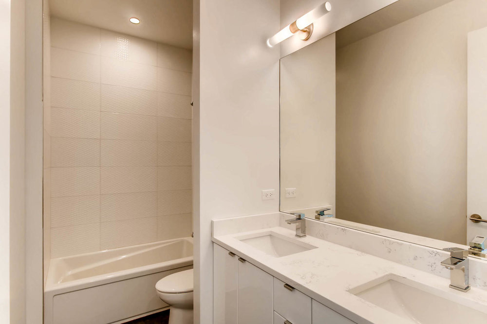 Guest Bath 3032 W Lyndale Street, Chicago