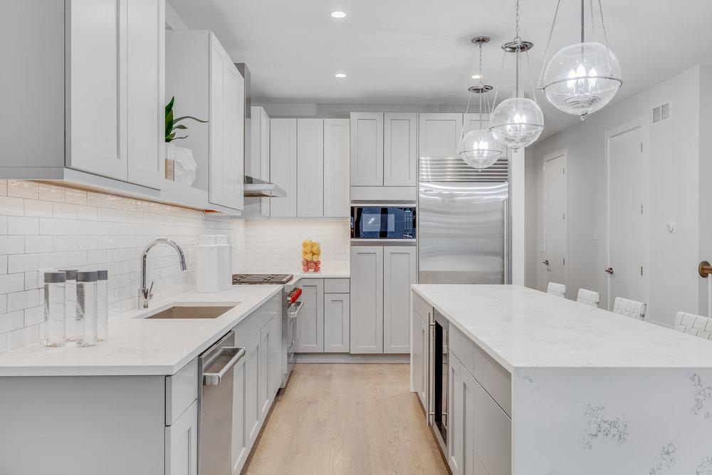 Kitchen at 1012 N Paulina St Unit 1, Chicago, IL