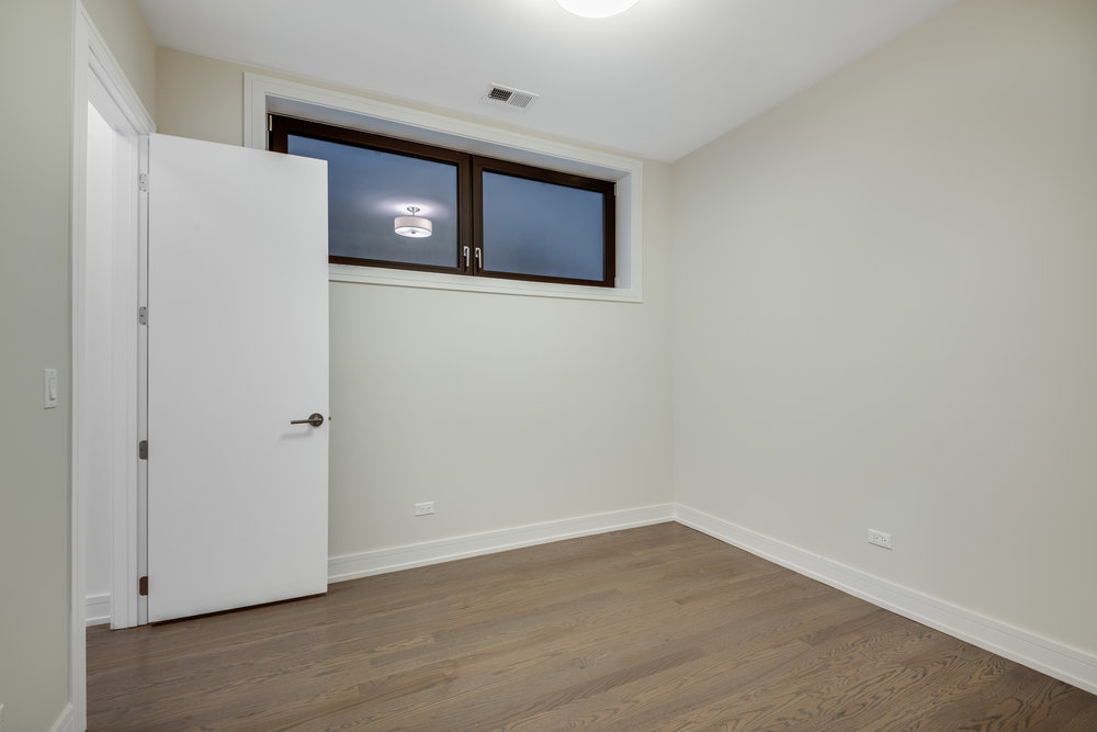 2nd bedroom at 1012 N Paulina St Unit 1, Chicago, IL