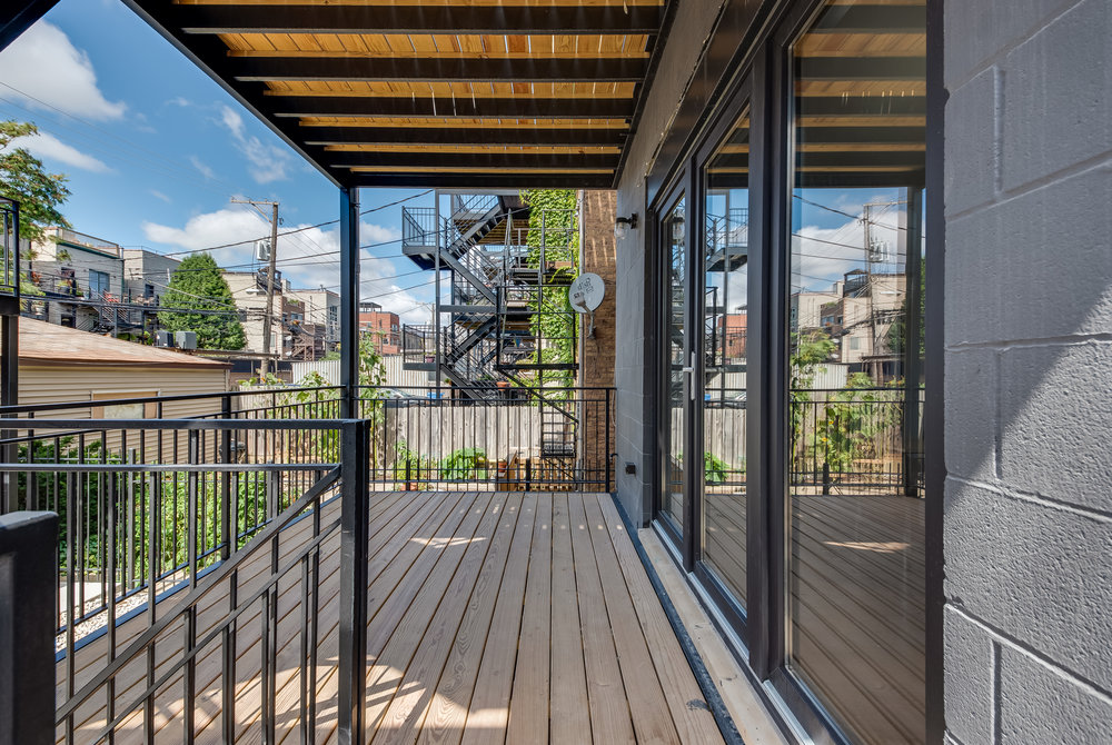 Copy of Rear deck at 1012 N Paulina St Unit 1, Chicago, IL