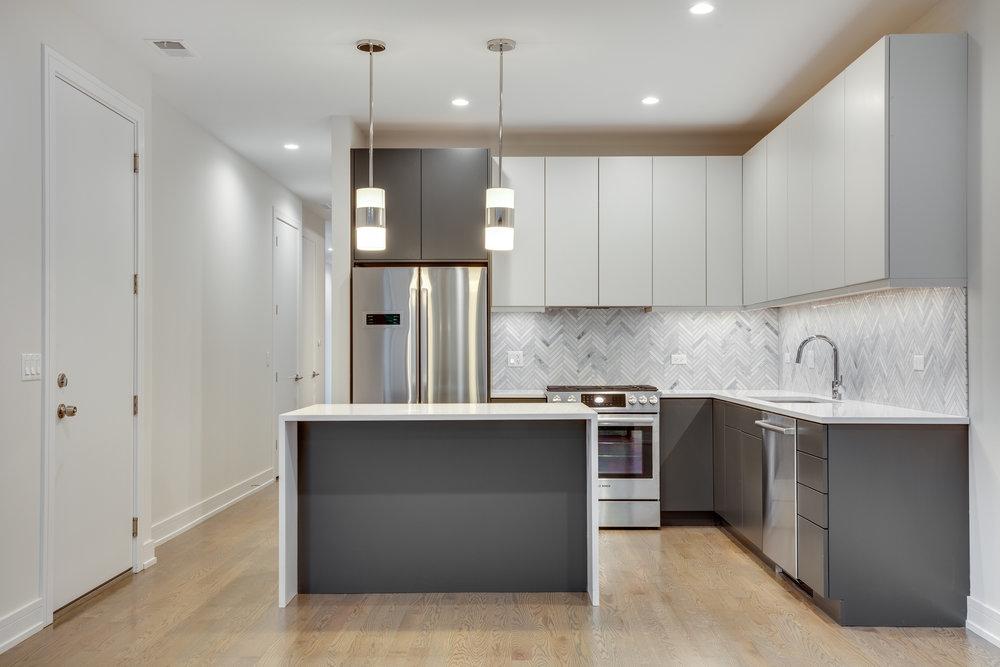Kitchen at 1012 N Paulina St Unit 2, Chicago, IL