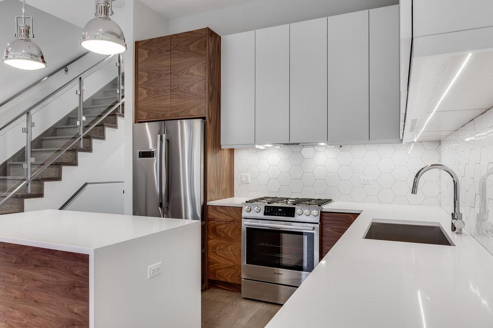 Kitchen at 1012 N Paulina St Unit 3, Chicago, IL