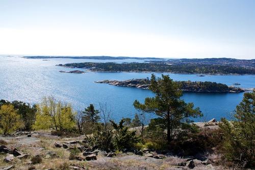 Odderøya og ut..