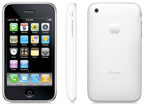 Ny iPhone 3G 16GB Hvit, den forrige tok kvelden i går grunnet et krafitg sammenstøt med hard betong, kortsluttet telefonen og simkortet.. Da er det bare å kjøpe seg en ny en da! Jon Erik.