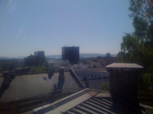 Sol og sommer over Oslo by…
