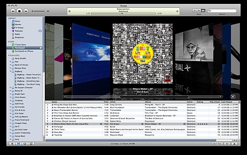 The Beauty of iTunes (on a Mac)