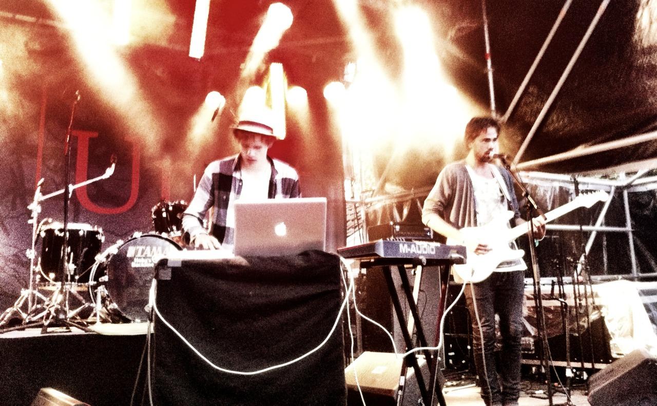 Lemâitre på Urørt scenen. Beste konserten av de alle. Tønsberg, 2011.