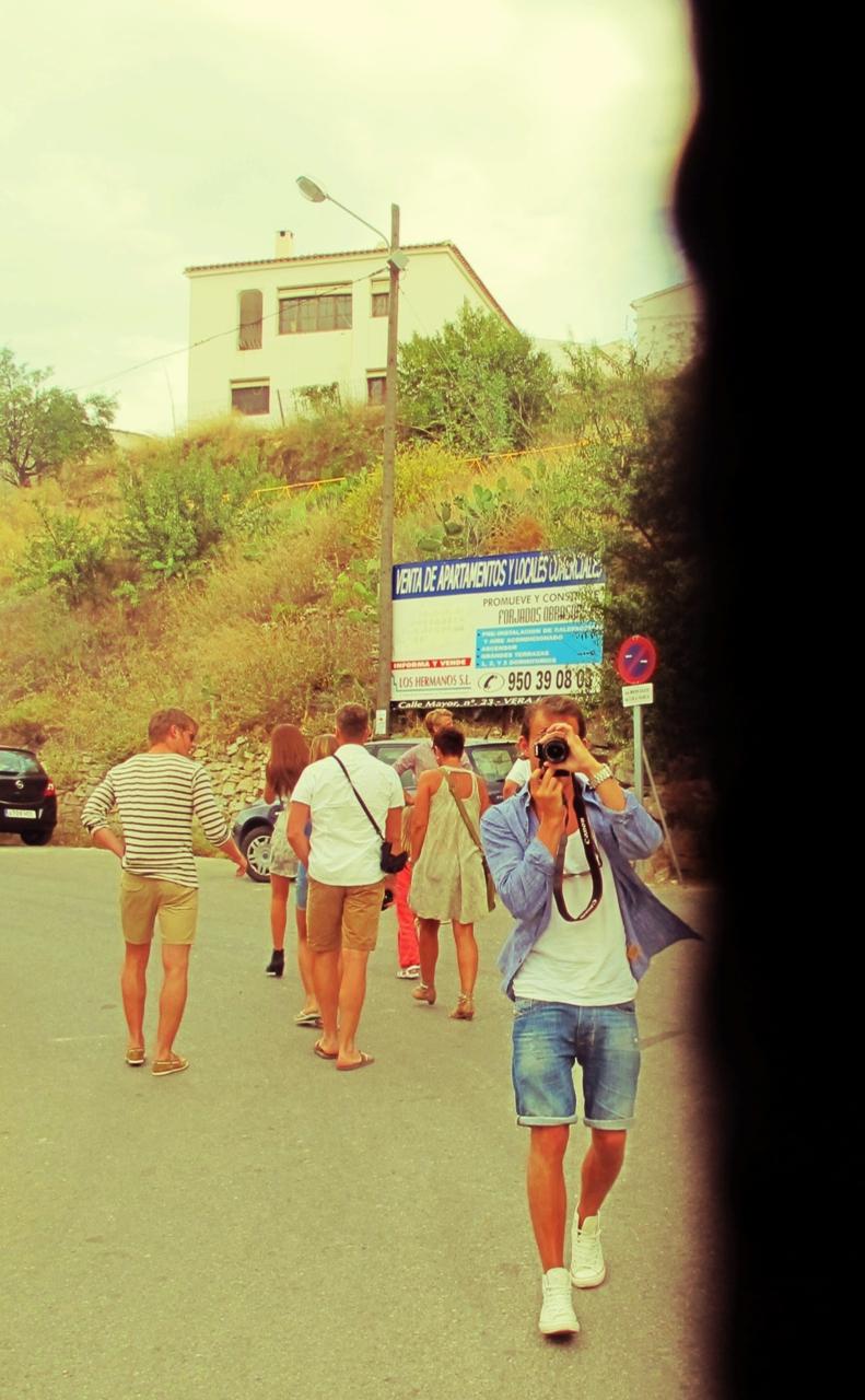 Smil til kamera, Spania, Juli 2011.