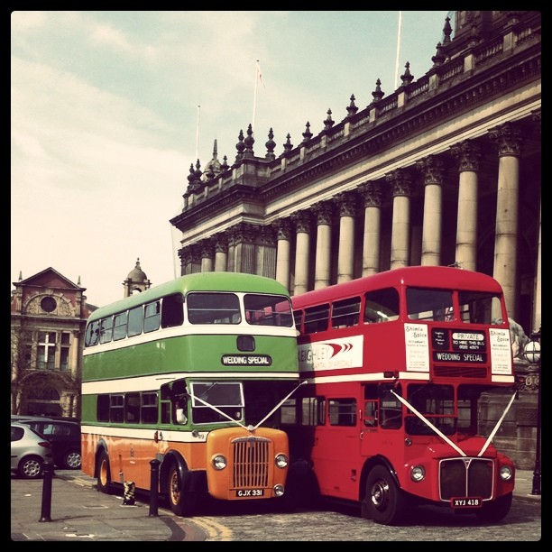 Firegangerbuss (Taken with Instagram at Leeds Town Hall)