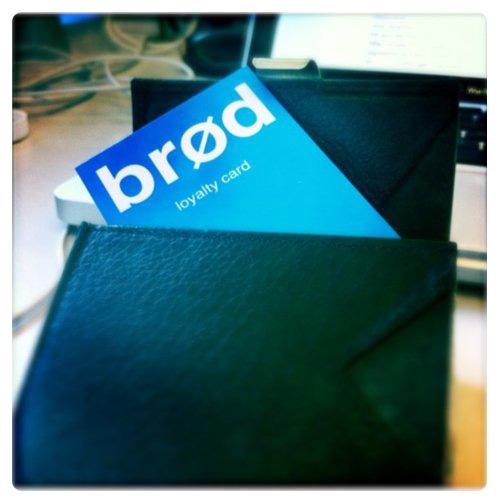 @brodsandwich loyalty card. Frekt.  (Taken with  Instagram  at Leeds Metropolitan University)