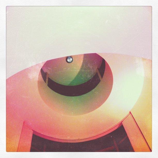 Det funky taket i leiligheten vår.  (Taken with  Instagram  at Bedford Chambers)