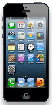 Apple iPhone 5, 2012. Apple.com