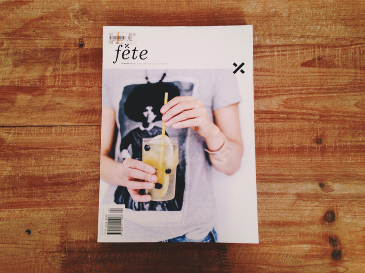 Fete Magazine - Summer 2013