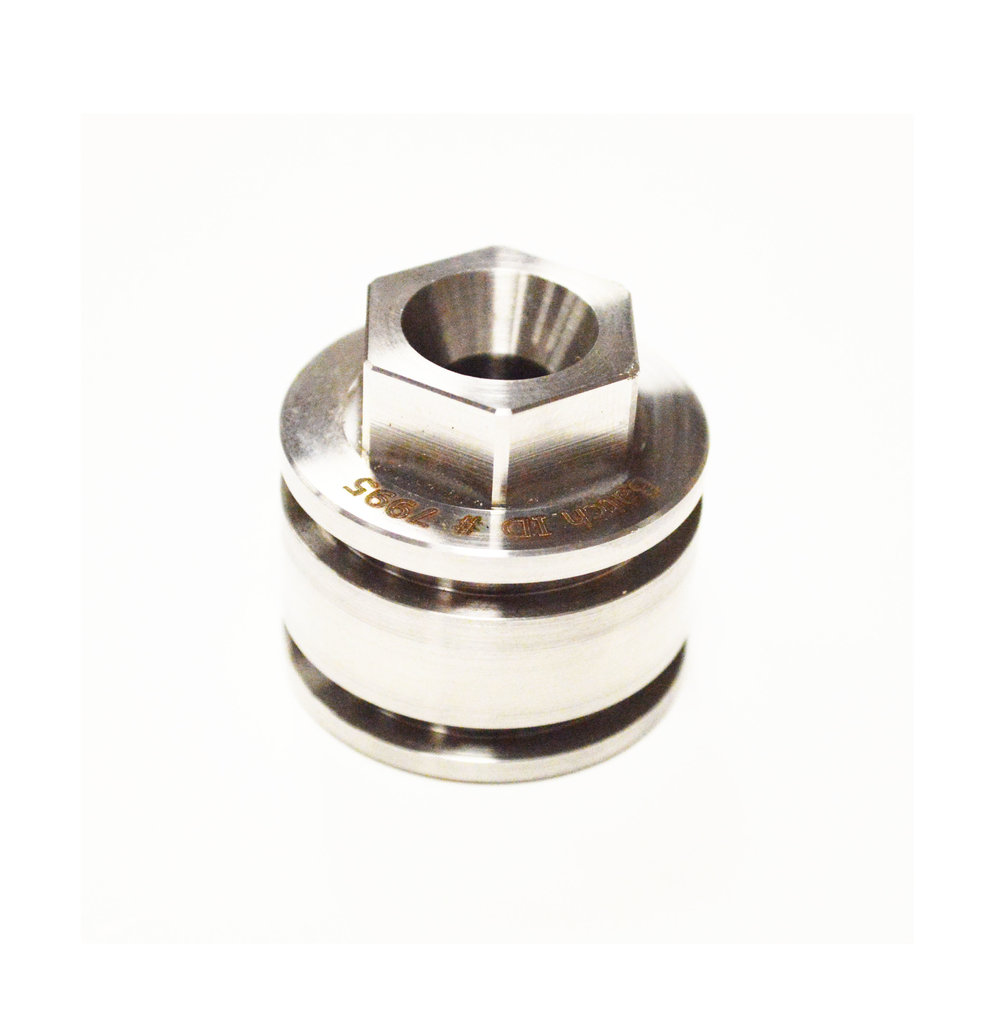 2 Poly Pak Piston Cap                     Stainless Steel                         SMS-004