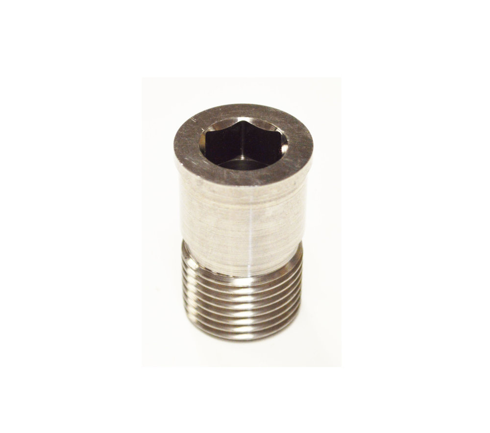 Poppet Bolt- Hex                    Stainless Steel                      SMS-1501