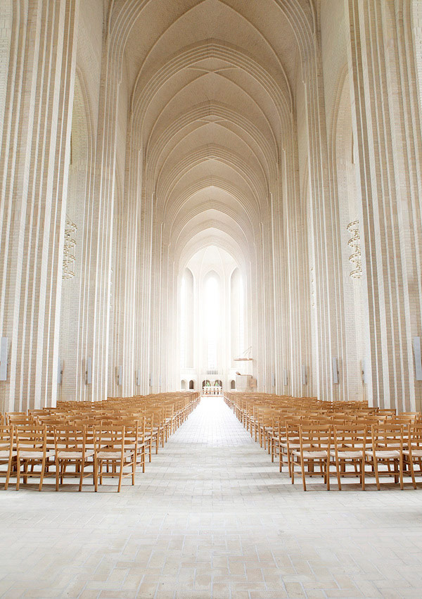 "csebastian :     photographer: Johan Rosenmunthe    I will never grow tired of  Grundtvig's Church, Copenhagen, Denmark.    PLASTOLUX ""keep it modern""» Photographer Johan Rosenmunthe    //  thisconstantlove : thebeautifulsoup"