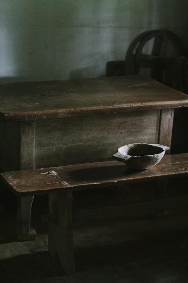 Communal noshing bowl.