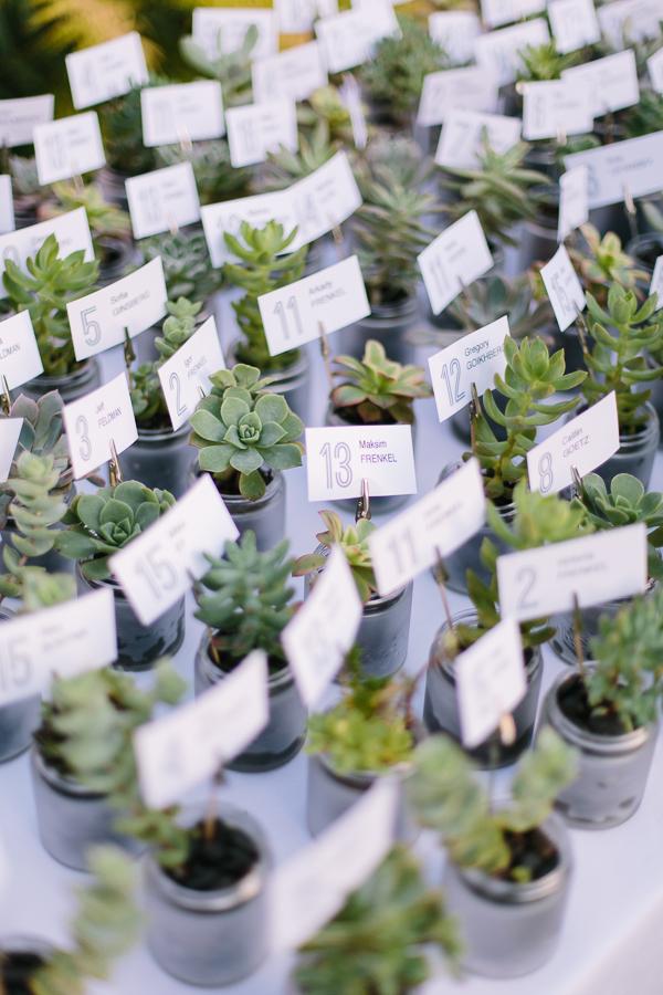 green wedding favor ideas