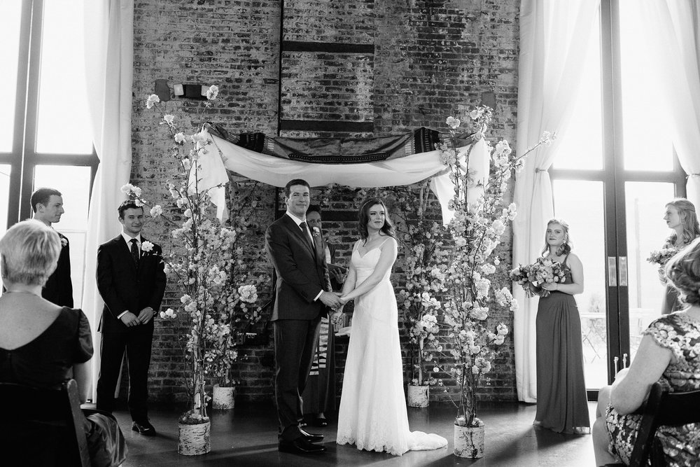 wedding photographer brooklyn green building