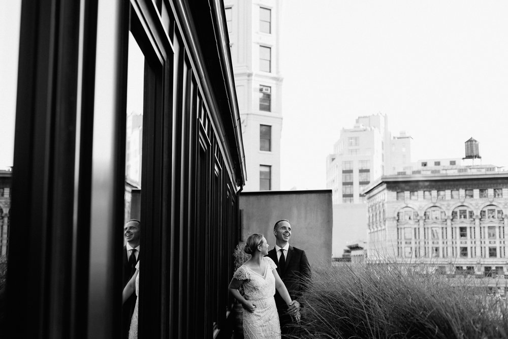 nomad hotel rooftop wedding