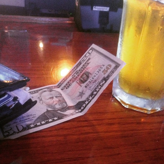 Grant me a beer. #moneymaking #cashflow #beer #craftbeer #weekend