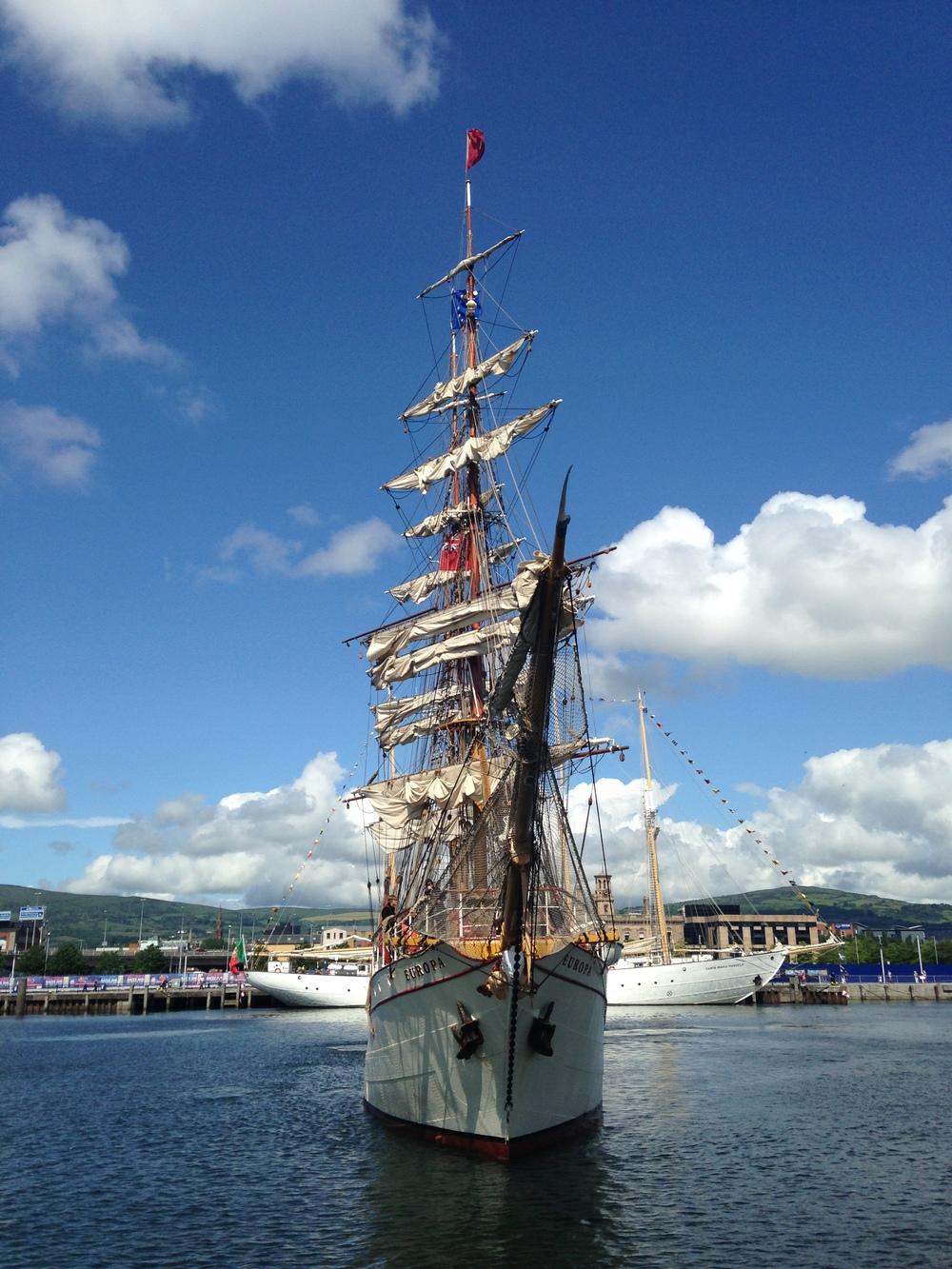 Huge Sails!