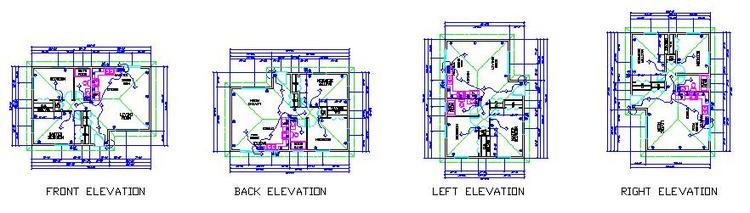 Small House Plan Elevations — Learn Rich