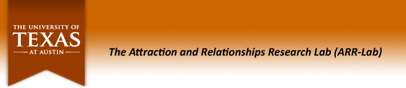 Dr. Paul Eastwick: Attraction and Relationships Research Lab