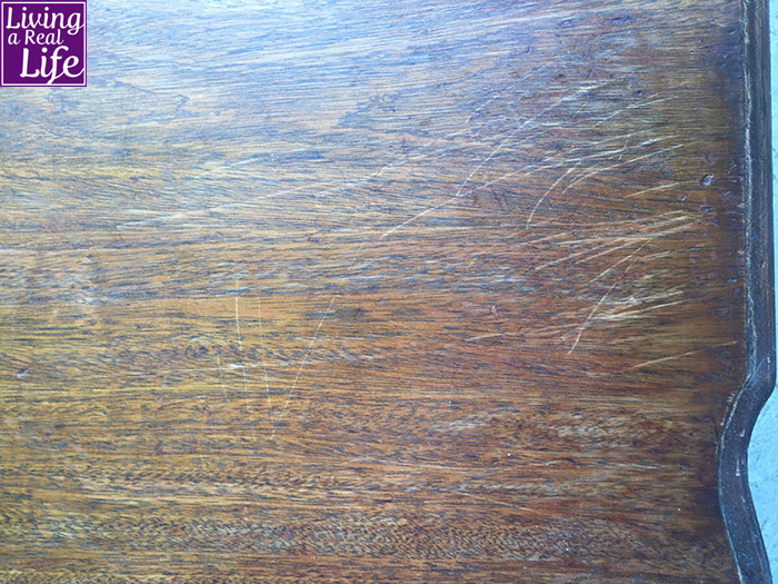 Coffee Table Top Before