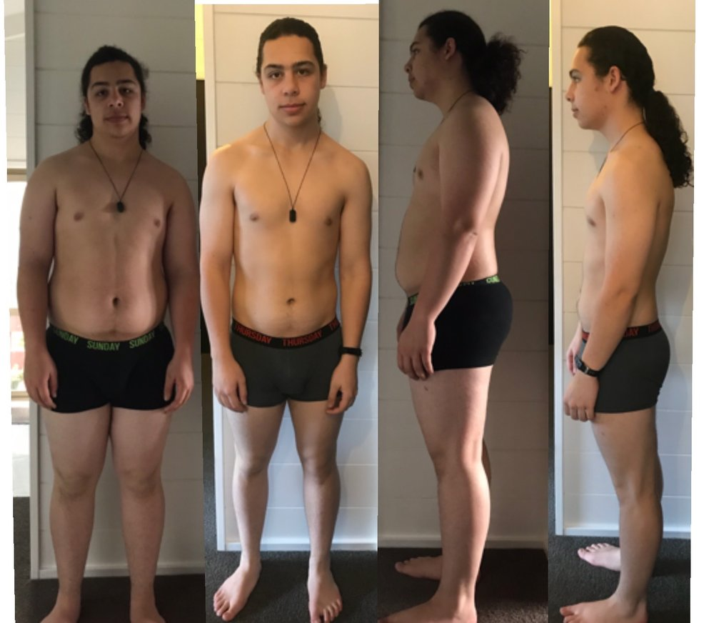 Jesse Before and After Keto