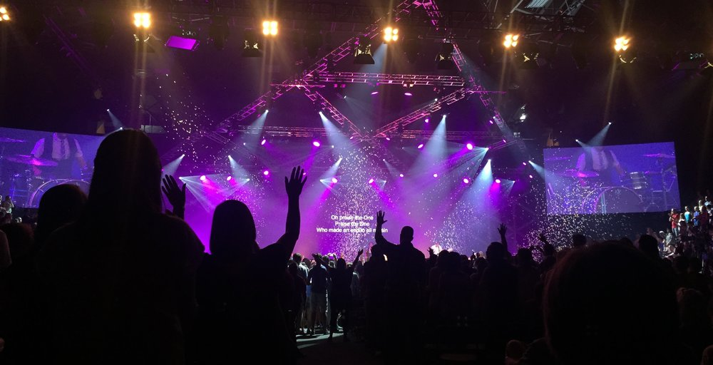 Worship 2 years ago with 5,000 other Cru staff at Cru15.