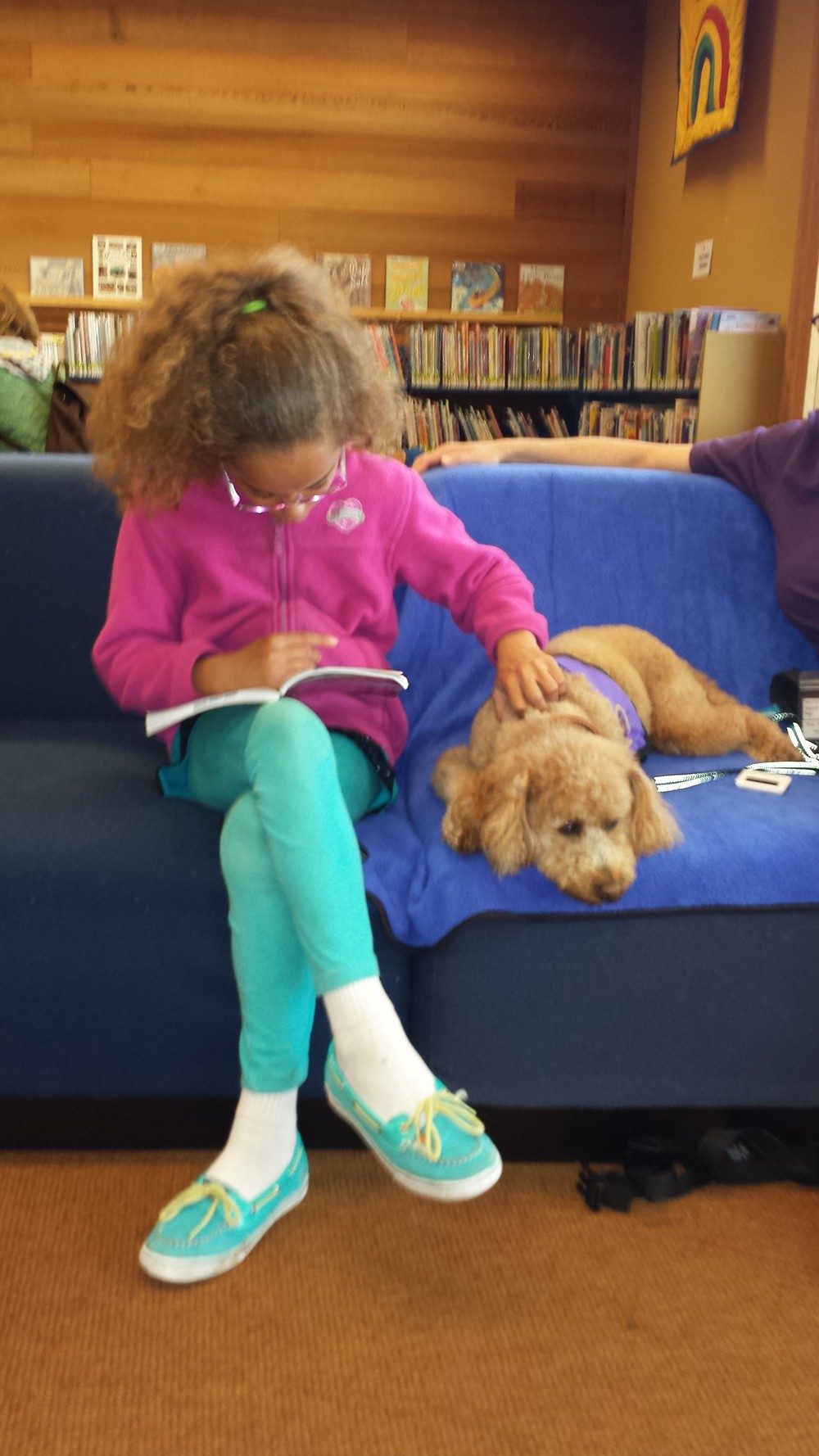 Bailey reading with Ernie.jpg